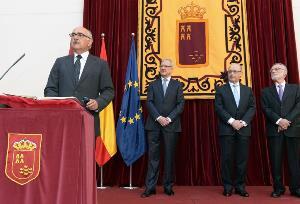 Acto de toma de posesión de Alberto Garre como presidente de la Comunidad Autónoma de la Región de Murcia