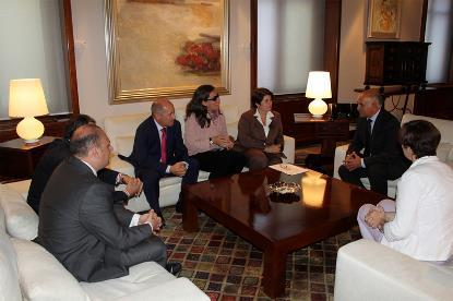 El CERMI Murcia solicita a Alberto Garre su apoyo en materia de discapacidad