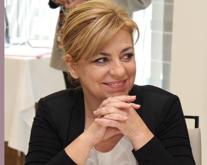 Elena Valenciano, Vicesecretaria General del PSOE y candidata al Parlamento Europeo