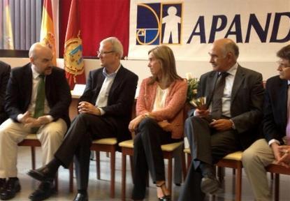 Luis Alonso, gerente del CERMI, durante la conferencia 'Las personas con discapacidad en el empleo público en España'