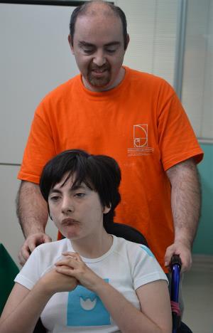 Alfonso, cuidador de la Fundación Carlos Martín