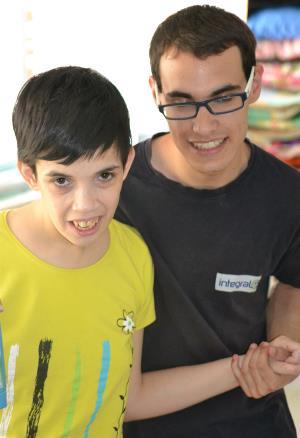 Ángel, cuidador de la Fundación Carlos Martín