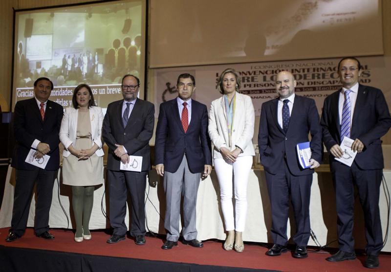 Inauguración del Congreso 'La Convención Internacional sobre los Derechos de las Personas con Discapacidad – De los derechos a los hechos'