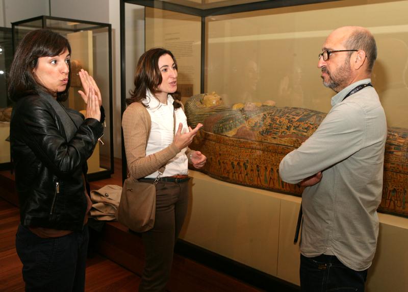 El Museo Arqueológico Nacional presentó su Programa de Accesibilidad para Personas con Discapacidad