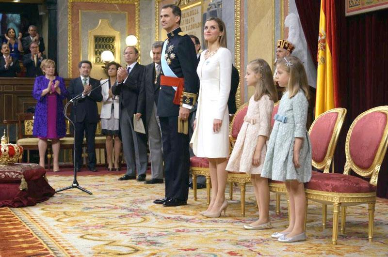 La Familia Real en el Congreso de los Diputados