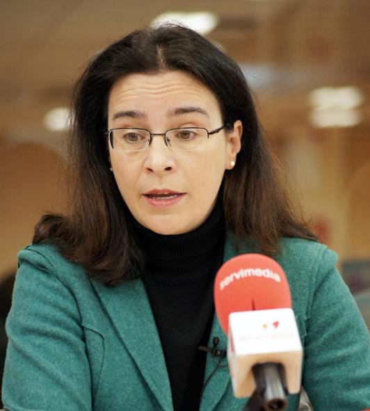 Carmen Plaza, directora general del Instituto de la Mujer