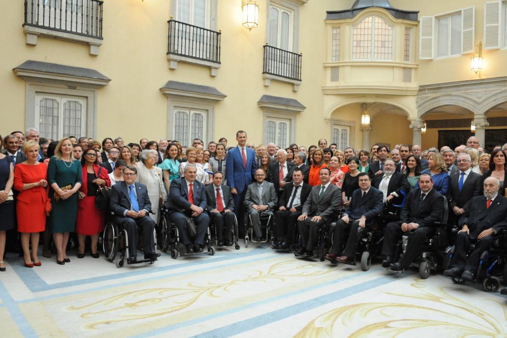 Encuentro de los Reyes con más de 300 representantes de entidades de solidaridad social