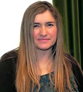 Mónica Oviedo, presidenta del CERMI Asturias