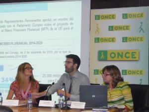 Javier Jambrina, de Red2Red Consultores, interviene en la jornada de fondos europeos
