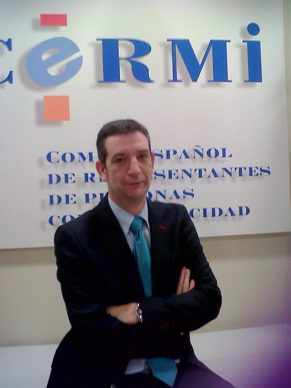 Luis Alonso, nuevo Gerente del CERMI