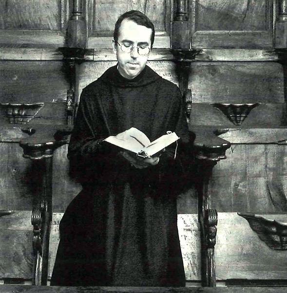 Víctor Márquez Pailos, escritor y prior del Monasterio de Silos