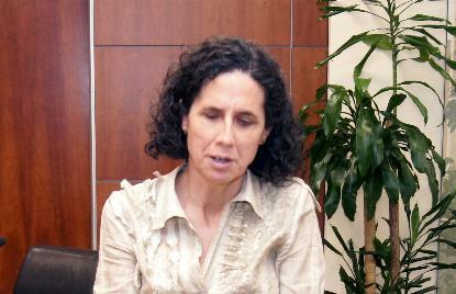 Ana Peláez, presidenta del Comité de Mujeres del EDF y Comisionada de Género del CERMI