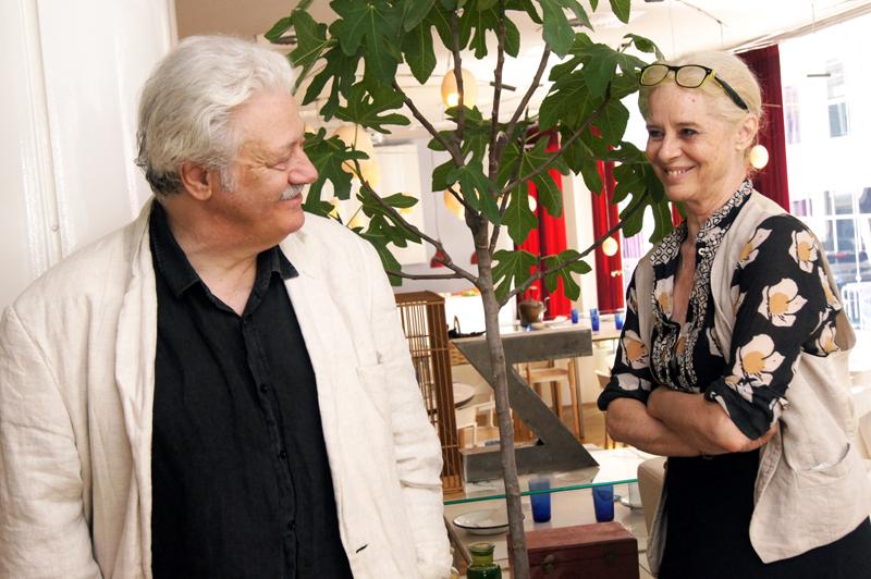 Vicky Peña y Mario Gas, actores