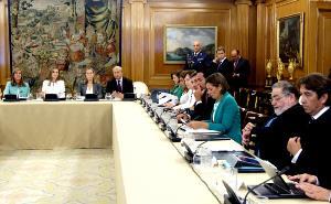 El Real Patronato de la Discapacidad se reunió este martes por primera vez bajo la presidencia de la Reina Letizia