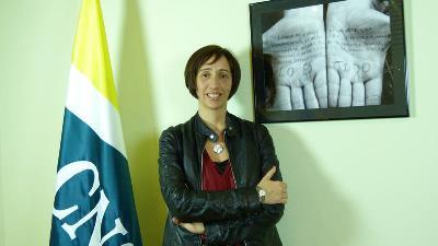 Conchan Díaz, Presidenta de la CNSE