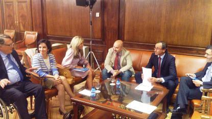 El CERMI repasa con el Grupo Popular en el Congreso la agenda legislativa de la discapacidad