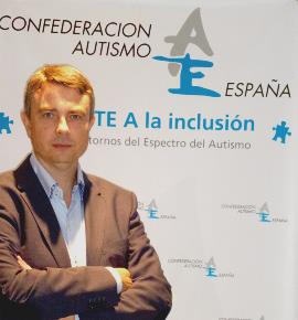Miguel Ángel de Casas, nuevo presidente de Autismo España