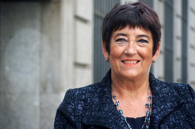 Cristina Sariego, presidenta de FESOPRAS y vicepresidenta de CERMI Asturias